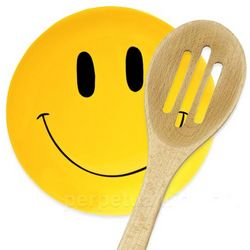 Smiley Face Spoon Rest