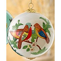Lovebirds Ornament
