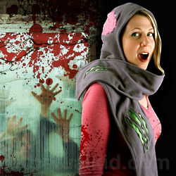 Zombie Attack Scarf