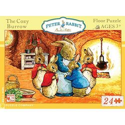 Peter Rabbit: The Cozy Burrow Floor Puzzle