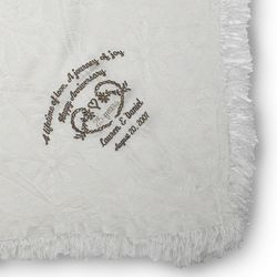 Crystal Lace 25th Anniversary Throw