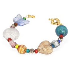 Fanny Multicolor Murano Glass Bead Bracelet