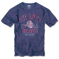 Atlanta Braves Vintage Scrum T-Shirt