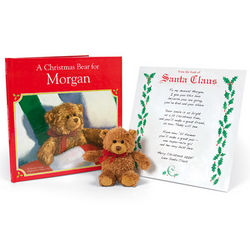 Personalized Christmas Book Gift Set