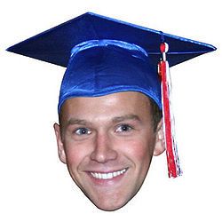 Custom Photo Graduate Cardboard Cutout