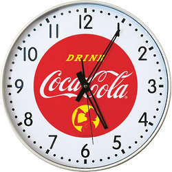 Retro Coca-Cola Clock