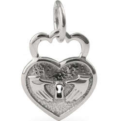 Key to My Heart Claddagh Charm