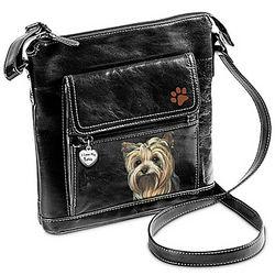 I Love My Yorkie Crossbody Bag