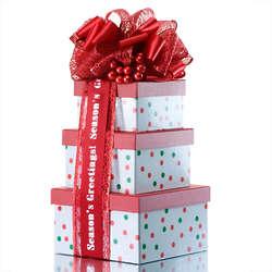 HoliDots Gift Tower