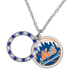 New York Mets Disc Necklace