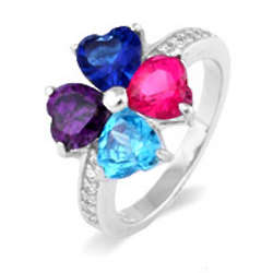 Close to the Heart Mother's Love 4 Birthstone Ring