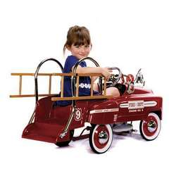 Deluxe Pedal Fire Truck