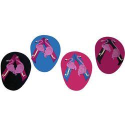 Flamingo a Go-Go Flip Flop Coasters