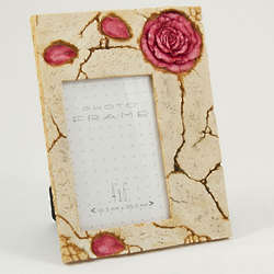 Rose Resin Picture Frame