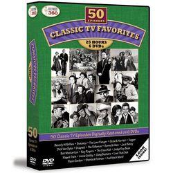 50 Classic TV Favorites DVD Set