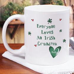 Everyone Loves Personalized Irish Coffee Mug