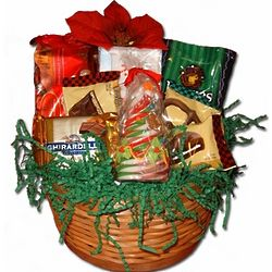 Small Christmas Gift Basket
