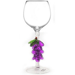 Grapes Wine Glass