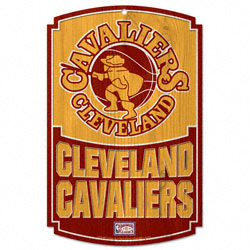 Cleveland Cavaliers 1970 Vintage Wood Sign