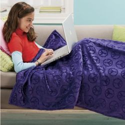 Kids' Peace TV Blanket