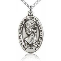 St. Christopher Sterling Silver Medal