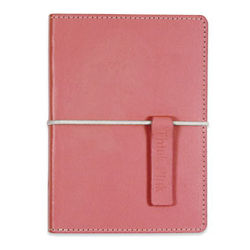 "Pink Ribbon ""Think Pink"" Bonded Leather Journal"