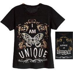 I Am Unique Tee Shirt