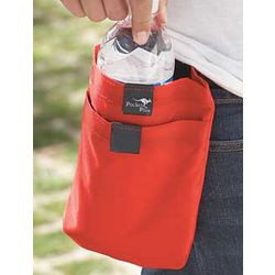 Large Pocket Plus in Red
