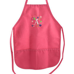 Personalized Hot Pink Kids' Apron