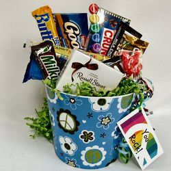 Groovy Candies Gift Basket