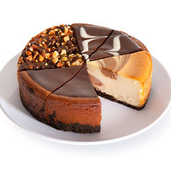 "Chocolate Lovers 6"" Cheesecake Sampler"