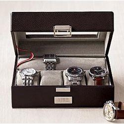 Men's Leather Watch Case