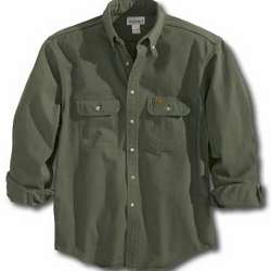 Carhartt Men's Sandstone Twill Shirt
