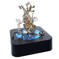 Magnetic Musical Notes Sculpture