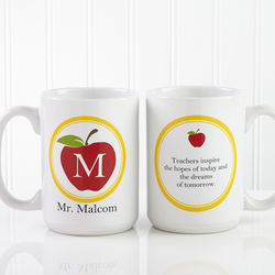 Personalized Teachers Inspire Large Coffee Mug
