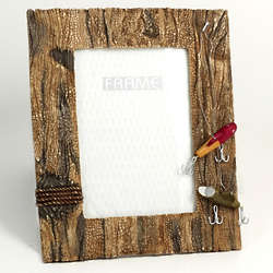 Fishing Resin Picture Frame