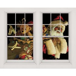 Double Window Christmas Poster