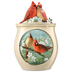 Sweet Tweets Cardinals Cookie Jar