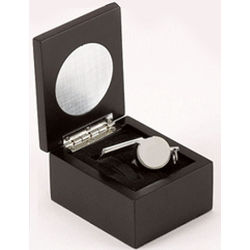 Personalized Engravable Boxed Whistle