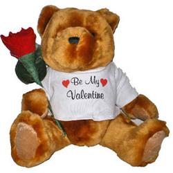 Valentine's Bear JustLeatherRose