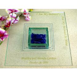 Wedding Glass Cake Plate
