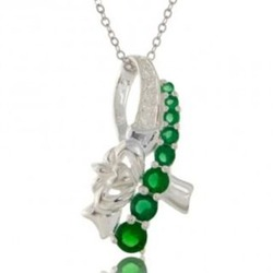 Claddagh Ribbon Necklace