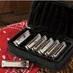 Loduca Blues 7-Pack Harmonica Gift Set
