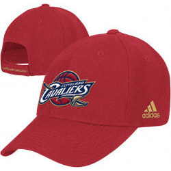 Cleveland Cavaliers Basic Logo Cotton Primary Adjustable Hat