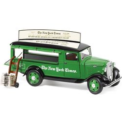 New York Times Die-Cast Delivery Truck
