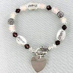 Engraved Friendship Bracelet