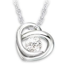 Precious as a Diamond Granddaughter Necklace
