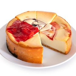 Fruit Cheesecake Sampler