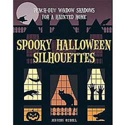 Spooky Halloween Silhouettes Book