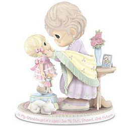 In My Granddaughter's Eyes Precious Moments Figurine